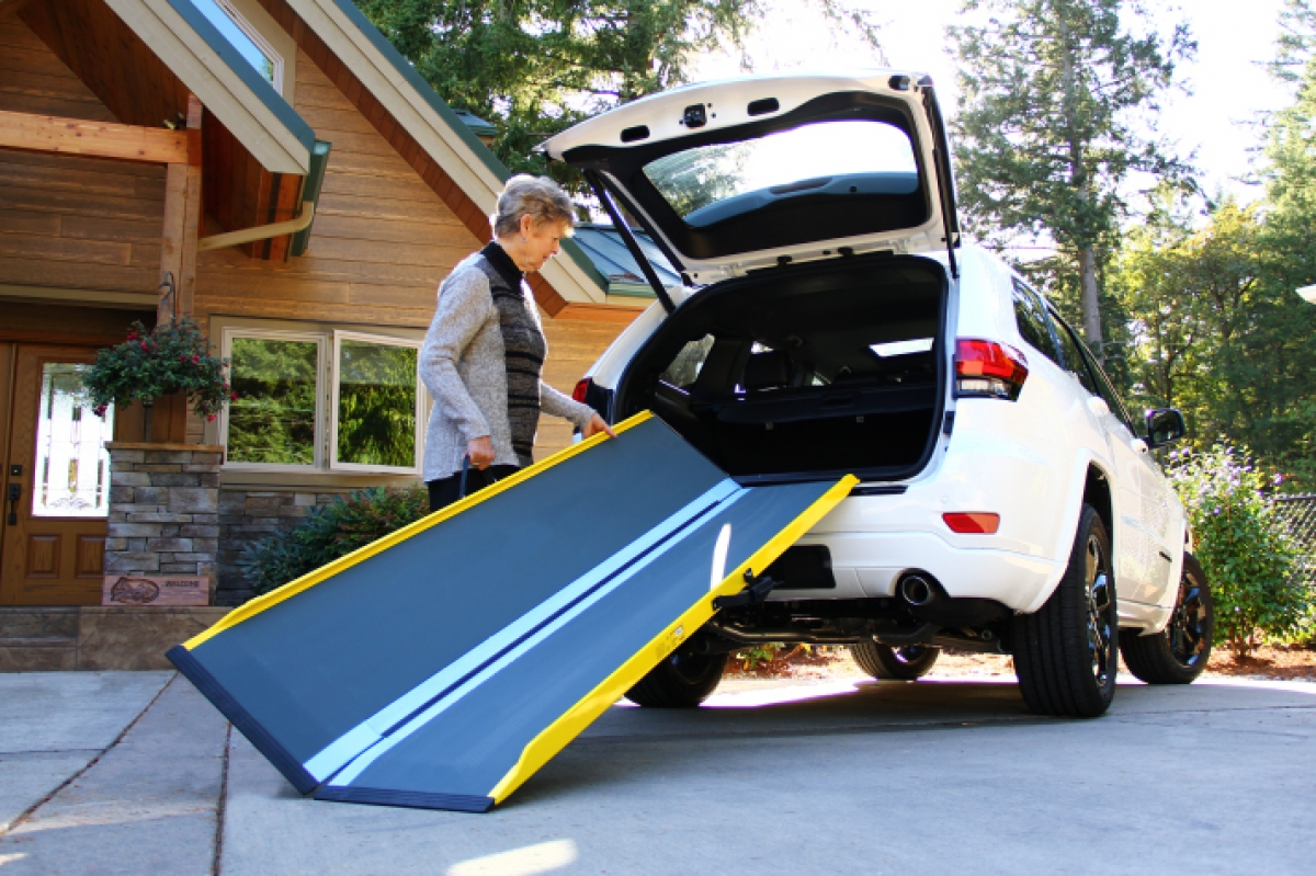 SUITCASE Graphite Ramp