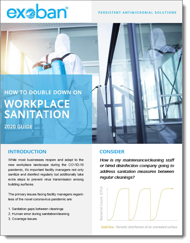 Exoban Double Down On Workplace Sanitation