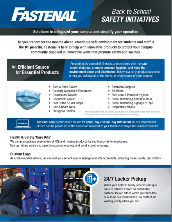 Fastenal Back to School Safety