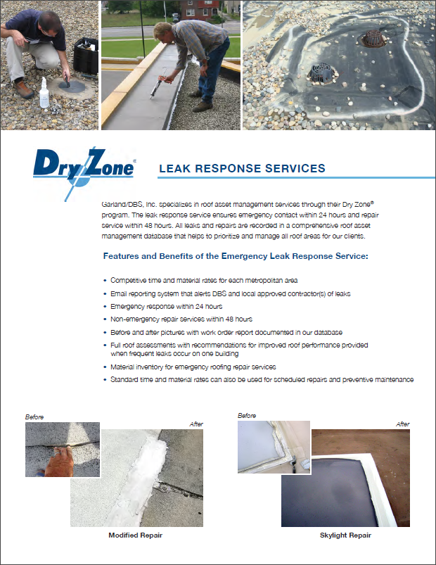 Dry Zone - Leak Response Services