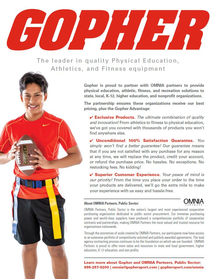 Gopher, The leader in quality Physical Education, Athletics, and Fitness equipment.