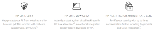 HP Secure Click