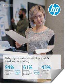 HP Print Security Solutions Brief
