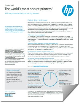 HP Security Technology Brief