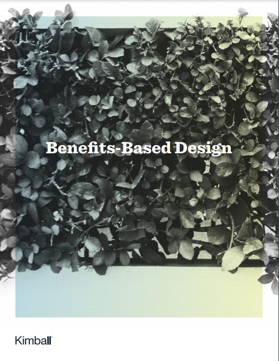 Kimball benefits based design brochure