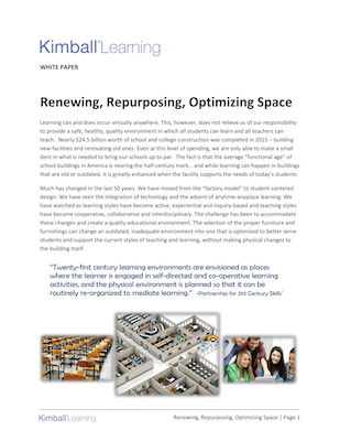 Renew Repurpose Optimize White Paper