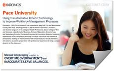 Using Transformative Kronos Technology to Improve Workforce Management Processes