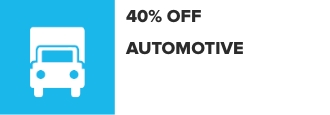 43% Off Automotive