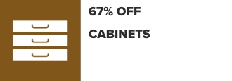 18% Off Cabinets