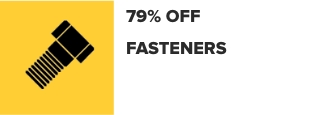 73% Off Fasteners