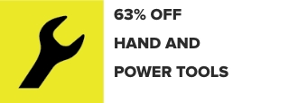 49% Off Hand and Power Tools