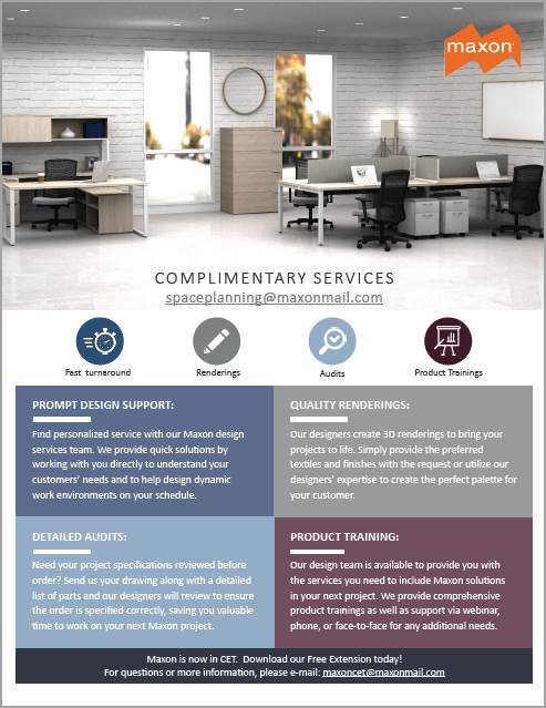 Maxon Complimentary Services; Fast Turnaround, Renderings, Audits, and Product Trainings