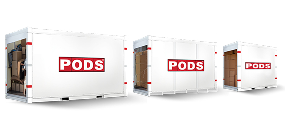 PODS Storage Container Sizes