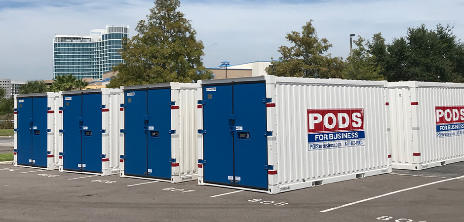 PODS Storage Container Government