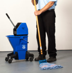 Prudential Overall Supply's Offering for PPE: Floor Cleaning Solutions & Mop Systems
