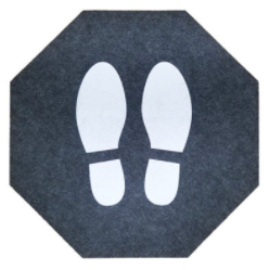 Prudential Supply's Offering for PPE: Stick-And-Stand Direction Mats