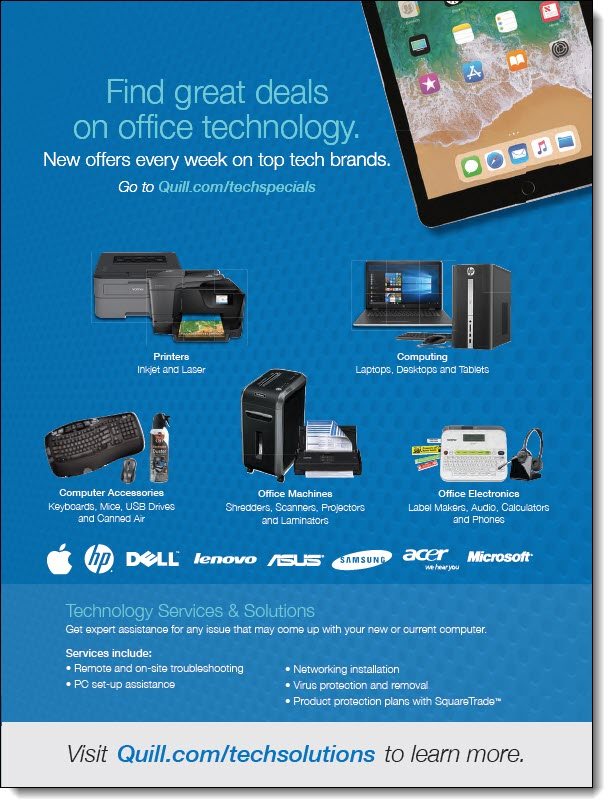 Quill Technology Solutions Flyer