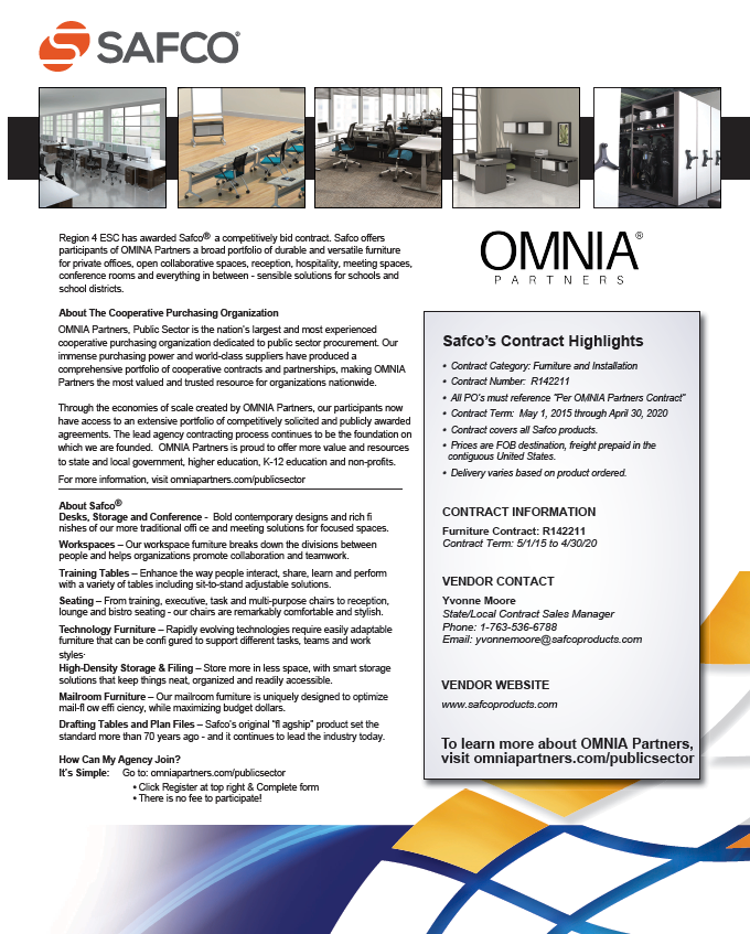 OMNIA Partners Safco Flyer