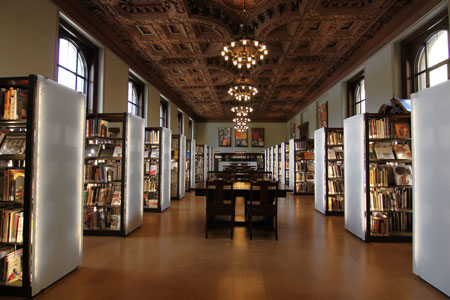 St Louis Central Library Shelving