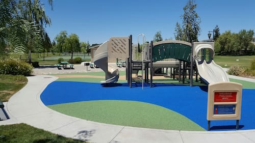 Playground in California