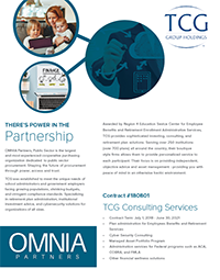 TCG- OMNIA Partners Overview Flyer