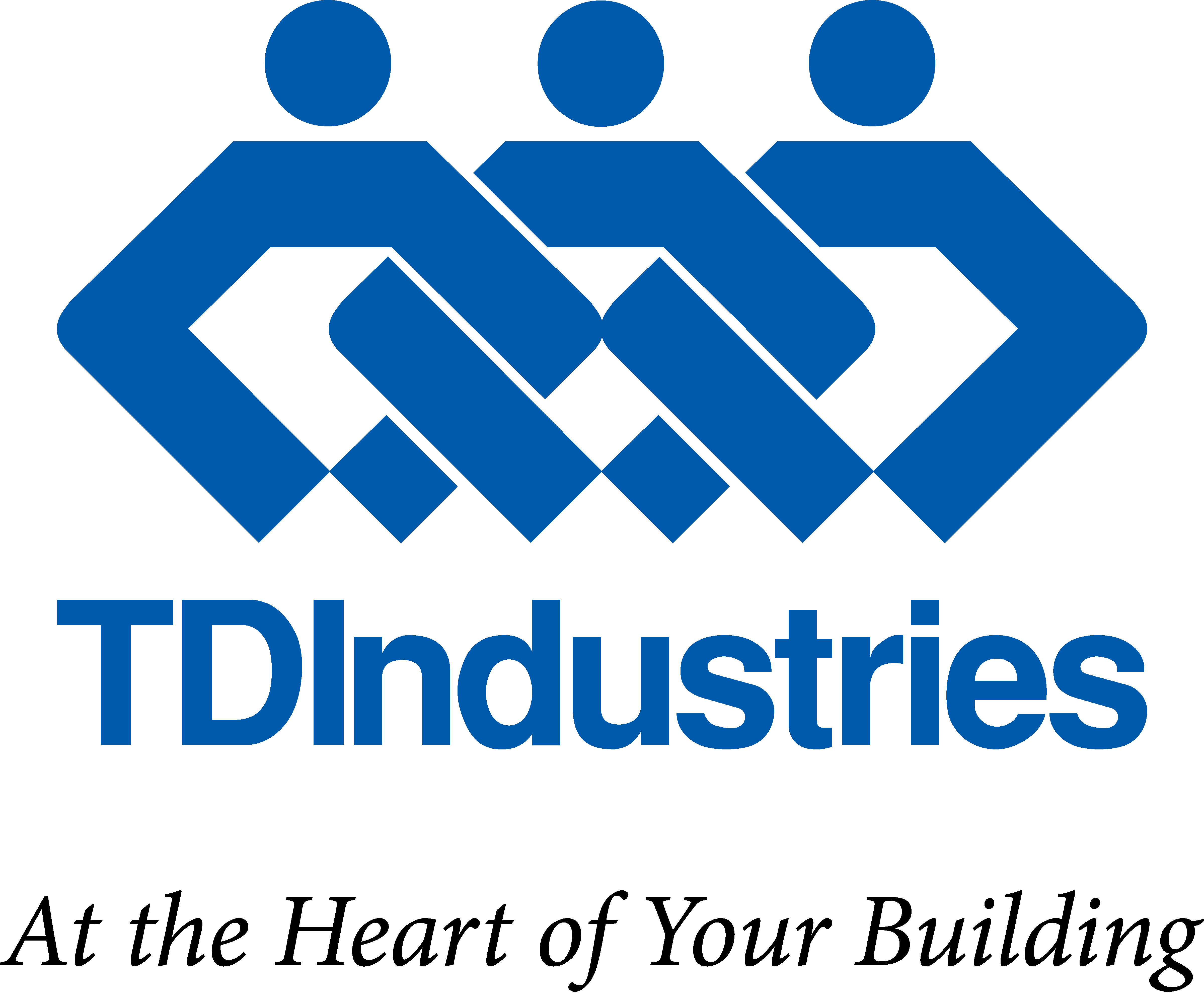 At the the Heart if Your Buildings TDIndustries Logo