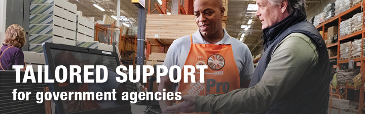 Home Depot Tailored Support