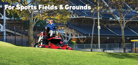 Toro Equipment for Sport Field and Grounds