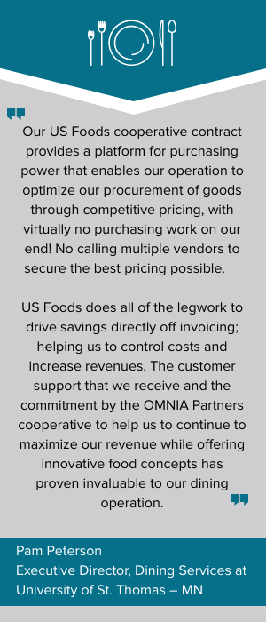 US Foods Cooperative Contract