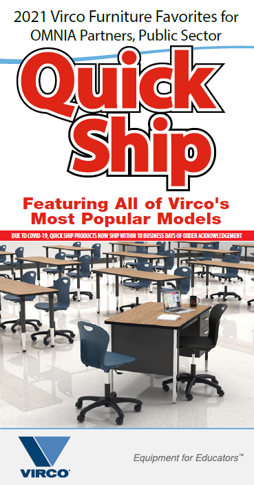 Virco quick ships most popular furniture models
